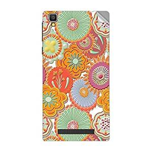 Garmor Designer Mobile Skin Sticker For Vivo X501W - Mobile Sticker