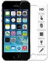 iPhone 5 5S 5C Film, Ganvol Prime Films de Protection écran en Verre Trempé pour Apple iPhone 5 5S 5C [INRAYABLE et ULTRA RÉSISTANT INDICE Dureté 9H] [Ultra HD Haute Transparence] [Vitre protecteur anti brise] [Anti-Rayure] [Empêche les Traces de Doigts] [Sans Bulles d'air] [0.33 mm]