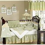 Dragonfly Dreams Green Bug Neutral Baby Boy Girl Bedding 9pc Crib Set by Sweet Jojo Designs
