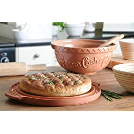 Mason Cash Terracotta Bread Baking Set