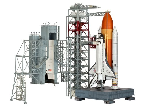 Revell Launch Tower & Space Shuttle & Booster Rockets 1/144 Scale Model #4911 (Space Shuttle Model Kit compare prices)