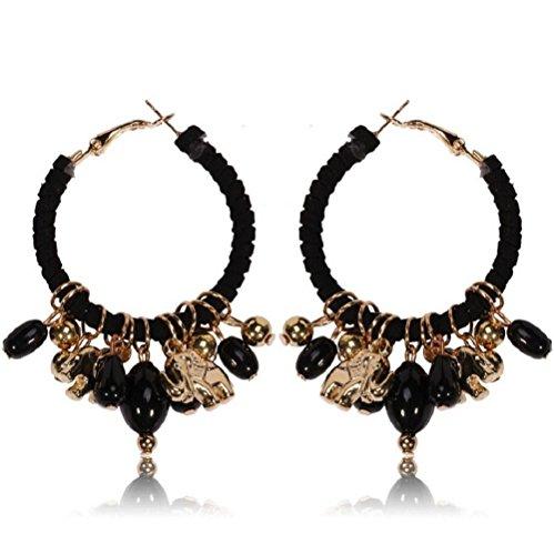 yuriao-jewelry-elegant-retro-elephant-pendant-alloy-hoop-earringsblackc