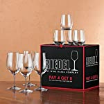 Riedel 8-Piece Vinum Bordeaux and O Viognier Glassware Set