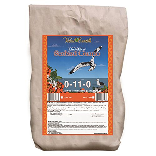Vital Earth'S Seabird Guano 0-11-0, 22-Pound Bag