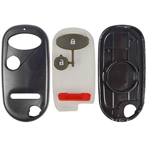 Button Case and Pad for Honda Remote Fob FCC ID E4EG8