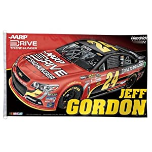 NASCAR Jeff Gordon Flag, 3 x 5-Feet by WINAV
