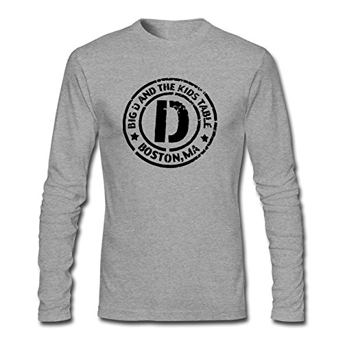 DESBH Men's Big Ang Long Sleeve T Shirt Grey (Dean Graziano compare prices)