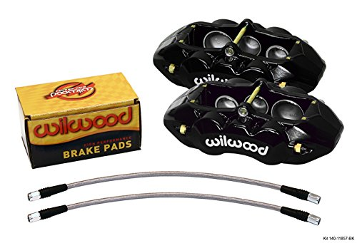 WILWOOD CALIPER, PAD, AND LINE KIT, D8-6, 6 PISTON,