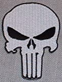 Marvel's PUNISHER Classic Skull Chest Embroidered PATCH
