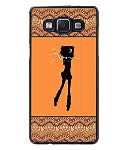PrintDhaba Girly Design D-2602 Back Case Cover for SAMSUNG GALAXY E5 (Multi-Coloured)