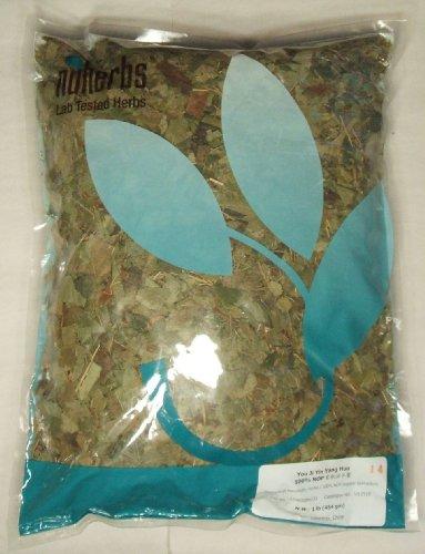 Horny-Goat-Weed-Organic-You-Ji-Yin-Yang-Huo-Epimedium-1lb-Bulk-Herb