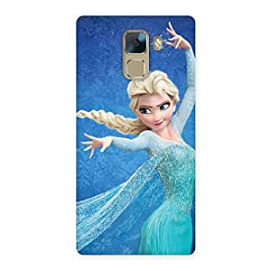 Ajay Enterprises Elite Cuty Animated Cute Girl Back Case Cover for Huawei Honor 7