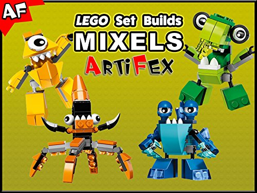 Clip: Lego Set Builds Mixels - Season 1