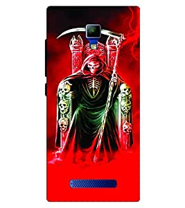 Voodoo Printed Back Cover For Panasonic P50 Idol