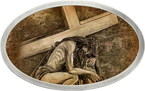 jesus carrying ...