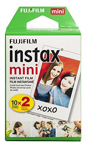 Fujifilm INSTAX Mini Instant Film Twin Pack (White)