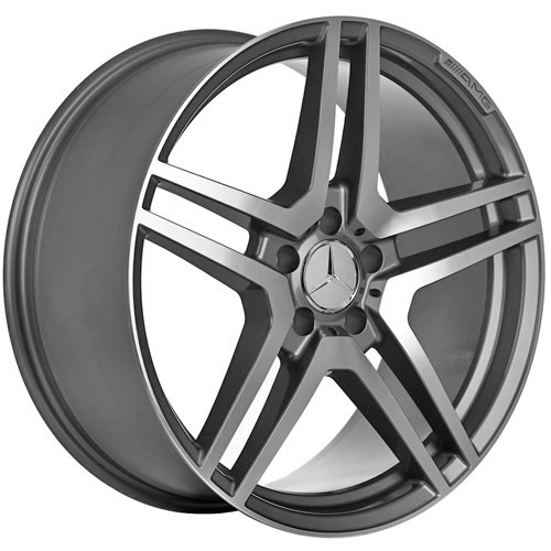 18 Inch Mercedes Wheels Rims Gunmetal (set of