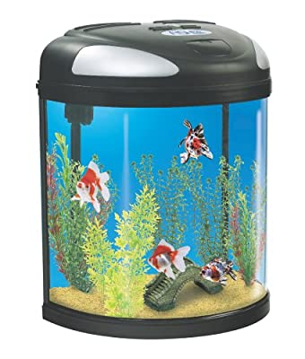 Interpet Fish Pod Moon Glass Aquarium - Fish Pod Moon
