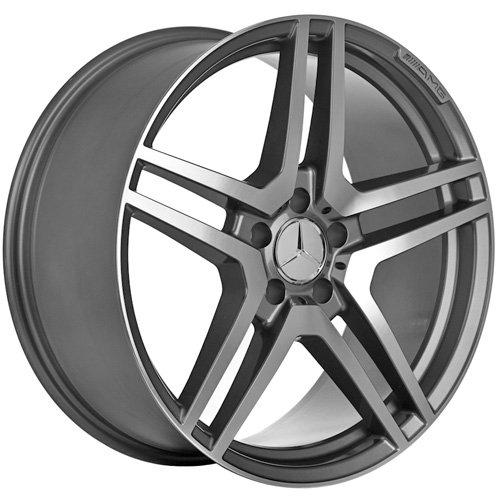 18 Inch Mercedes Wheels Rims Gunmetal (set of 4)