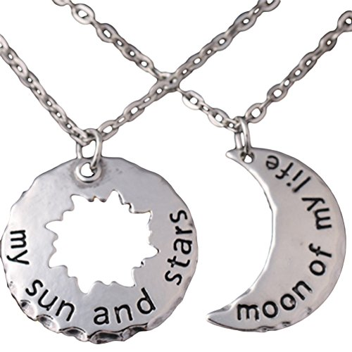 My Sun And Stars, Moon of My Life Khal and Khaleesi 2 Piece Necklace Costume Set - 1