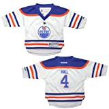 NHL Edmonton Oilers Hall #4 Toddler Hockey Jersey / Sweater 2T-4T White at Amazon.com