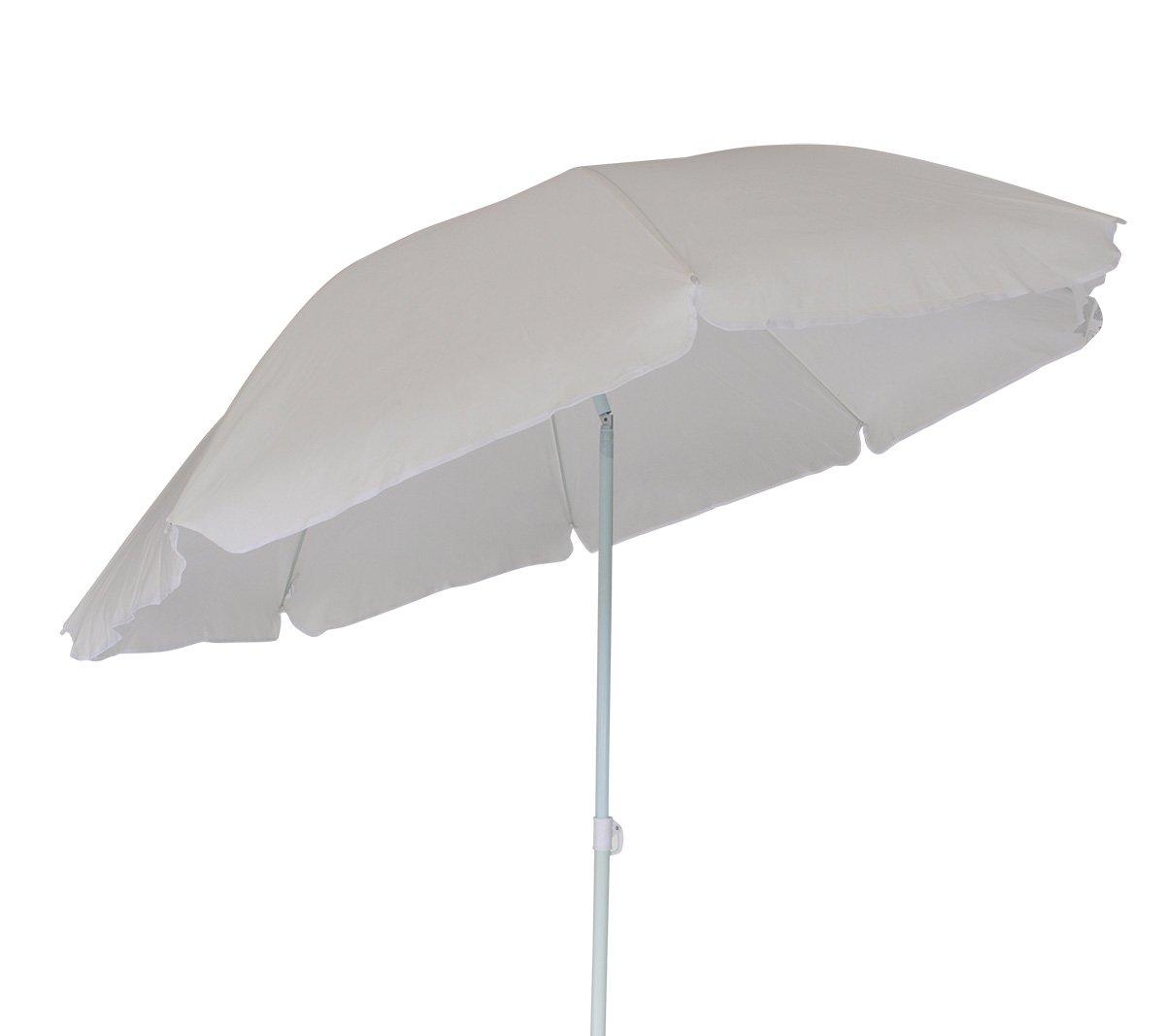 Strandschirm Sonnenschirm 200cm naturfarben, knickbar jetzt bestellen