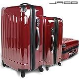 Vojagor® - Set 3 valises rigide en polycarbonate diverses couleurs (TRSE01)
