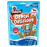 Bakers Dental Delicious with Beef for Medium Dogs (7 per pack - 200g)
