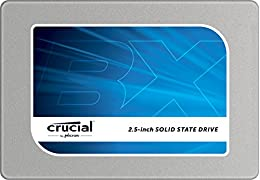 Crucial [Micron製Crucialブランド] BX100 2.5インチ 内蔵SSD ( 250GB / SATA 6Gbps / 7mm / 9.5mmアダプタ付属 ) CT250BX100SSD1