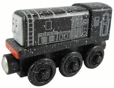 Thomas Wooden Railway - Snowy Diesel - Loose Brand New (Roll And Whistle Emily compare prices)