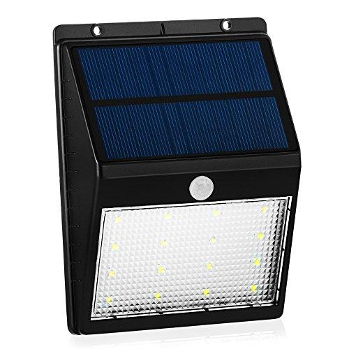 Lampade da parete energia solari wireless grandbeing® 16 led 250lm ...