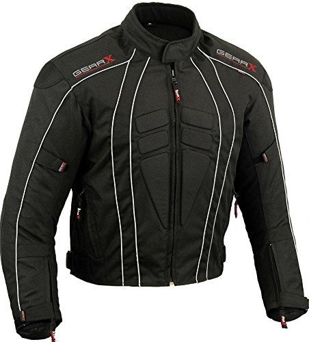 Dry Lite giacca da moto impermeabile, tutte le taglie nero M