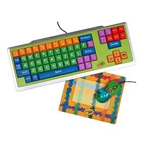 Crayola 11103  Keyboard, Mouse and Mouse Pad Bundle