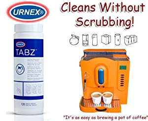 Tabz Coffee Equipment Cleaning Tablets - Canister (120 Tablets) from Tabz