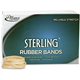 Alliance Sterling Rubber Bands, #62 - Size: #62 - 2.5\