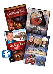 Christmas Movies For Family Night Dvd Collection 4 Christian Dvd Movies Includes Max Lucados Christmas Child- Directors Cut Mandie And The Forgotten Christmas Dvd Homeless For The Holidays Journey To Paradise Dvbox6