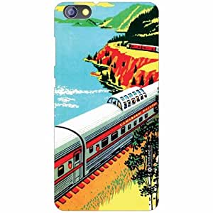 Huawei Honor 4X Back Cover - Silicon Train Designer Cases