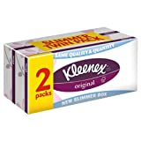 Kleenex Original White Tissues Twin Pack 4 x 72 per pack