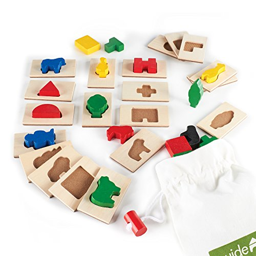 Guidecraft 3D Feel & Find Play Set - 1