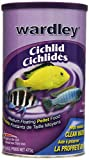 Hartz Wardley Cichlid Medium Floating Pellet Food, 16.8-Ounce,