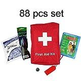 SadoMedcare 85 teiliges Survival und Erste Hilfe Set,...