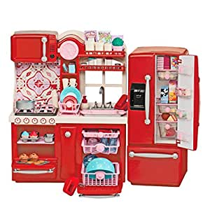 Our generation gourmet kitchen set for 18 inch for Kitchen set for 9 year old