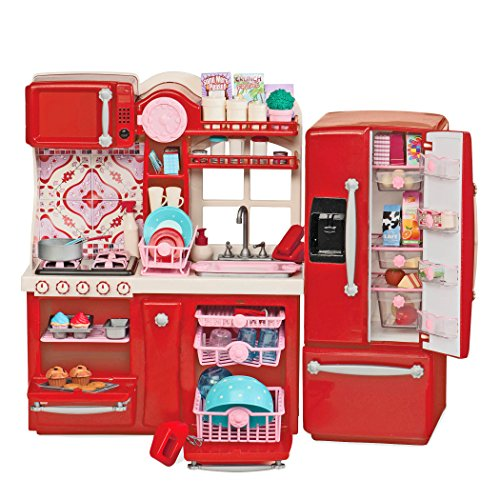 Our Generation Gourmet Kitchen Set for 18-Inch Dolls. Includ