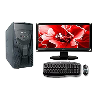 "COMPLETE CORE 2 DUO PC TITANIUM IT SERIES WITH 16"" LED, KEYBOARD & MOUSE"