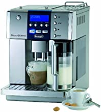 DeLonghi One Touch ESAM6600 Kaffee-Vollautomat PrimaDonna (1.8 l, Milchbehälter) silber