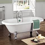 CHIC TRADITIONAL FREESTANDING ROLL TOP BATH TUB Picture