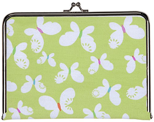 C.R. Gibson Canvas Photo Clutch, Butterflies