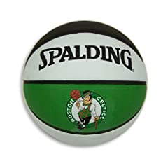 Boston Celtics Official NBA 29.5 Full Size Rubber Outdoor Basketball by Spalding