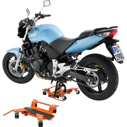 Hi q tools pedana per parcheggio moto scooter supporta for Pedana alzamoto