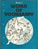 img - for World of Vocabulary: Book 3 book / textbook / text book